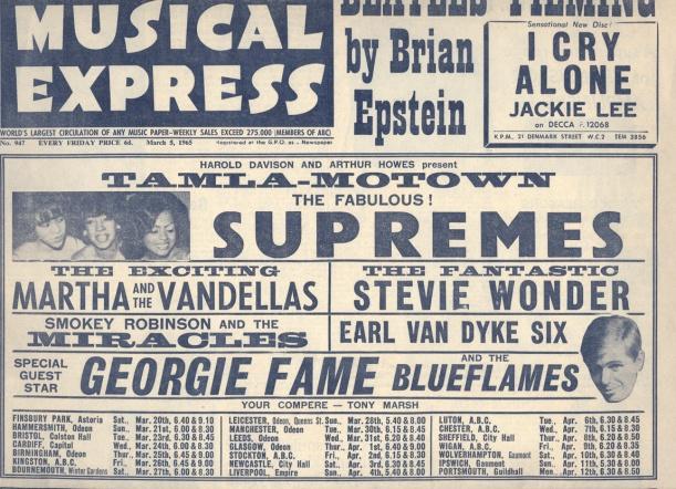 NME Motown Revue